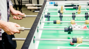 Foosball Table in the Game Room